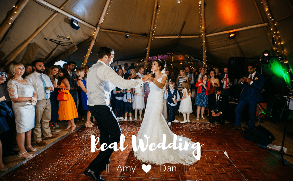 Real Wedding Amy and Dan