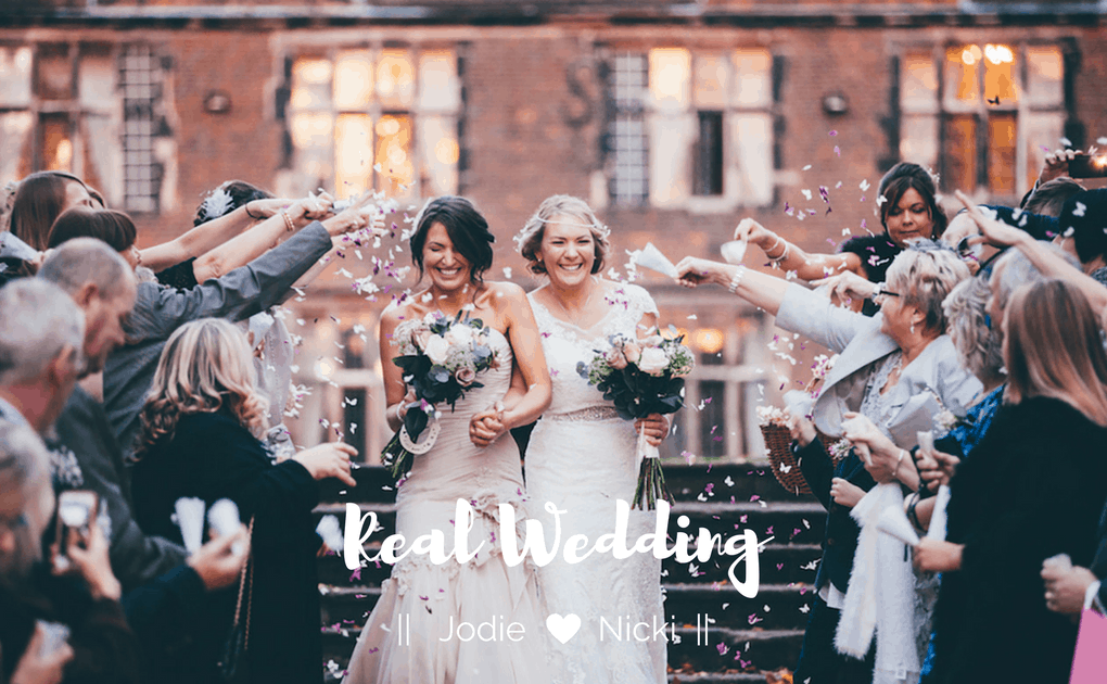 Real Wedding – Jodie and Nicki