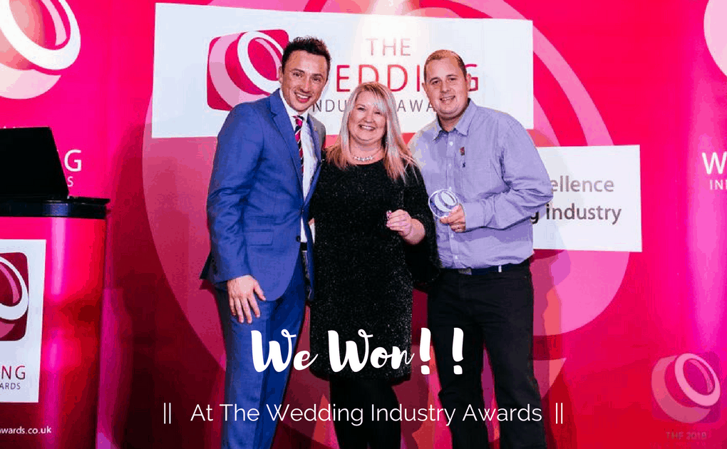 We Won at The Wedding Industry Awards