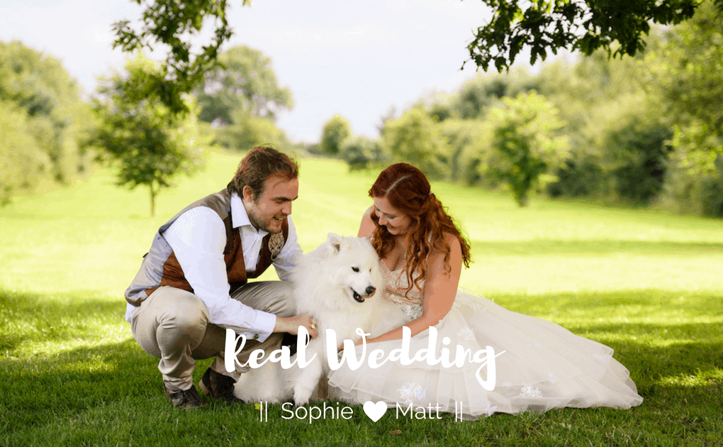 Real Wedding – Sophie and Matt