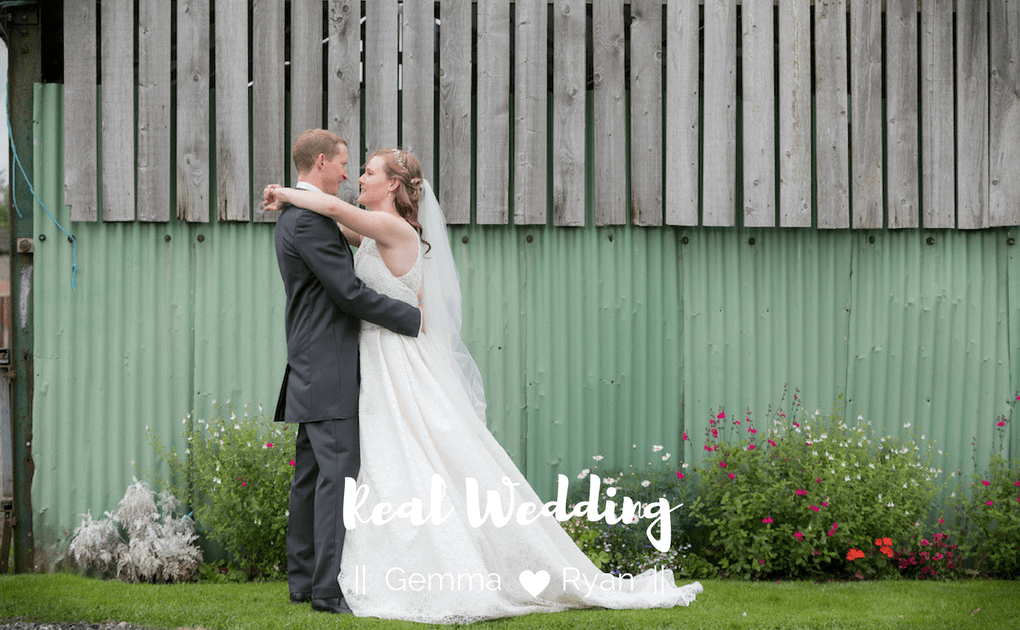 Real Wedding – Gemma and Ryan
