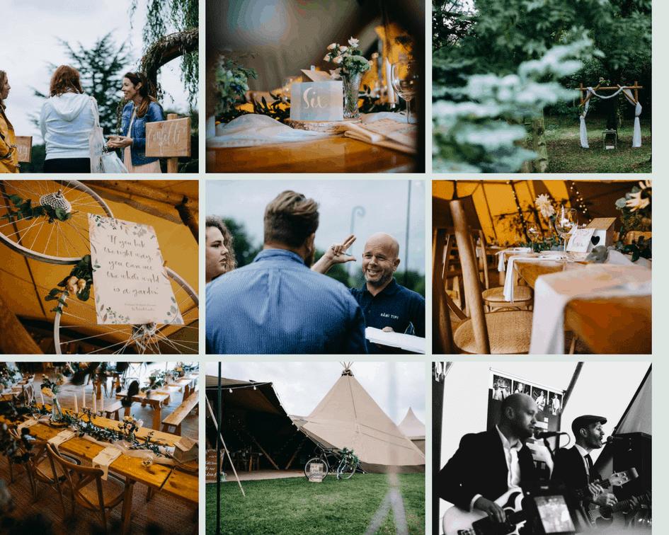 Secret Garden Tipi Wedding Open Day | Hannah Hall Photography