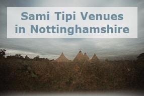 Sami Tipi event venues in nottinghamshire