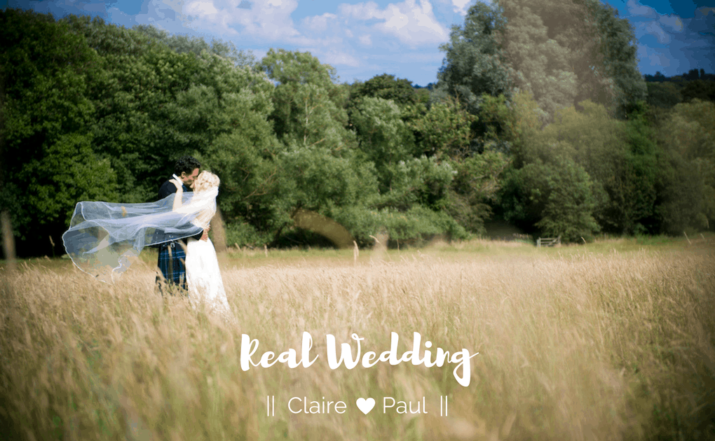 Real Wedding – Claire and Paul