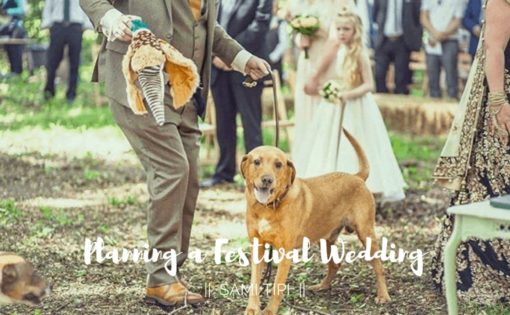 pets at weddings | Sami Tipi
