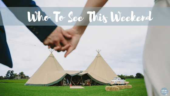 See The Tipis and More This Weekend