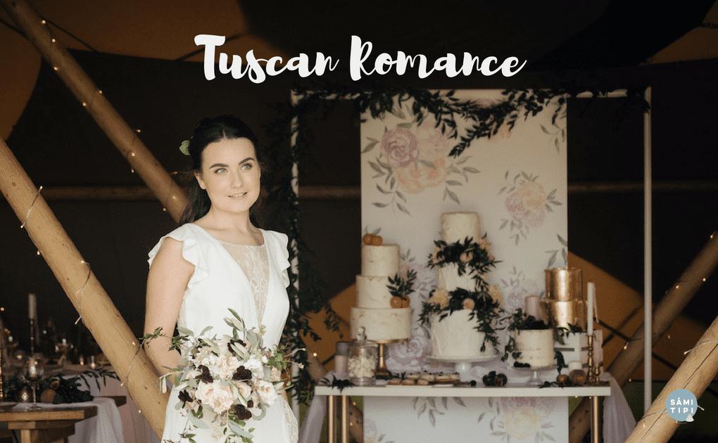 TUSCAN ROMANCE Tipi Styling Inspiration