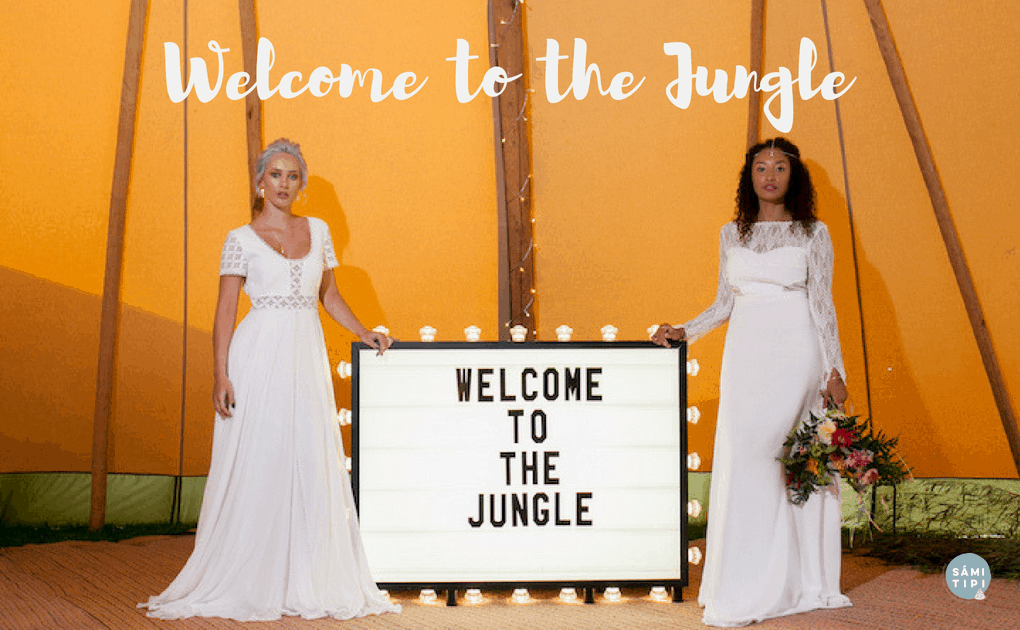 Welcome to the Jungle Tipi Styling