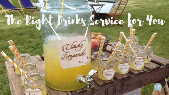Creating the Right Wedding Drinks Service for You