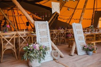 DIY Wedding Styling at Cattows Farm