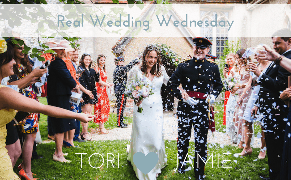 Real Wedding Tori & Jamie