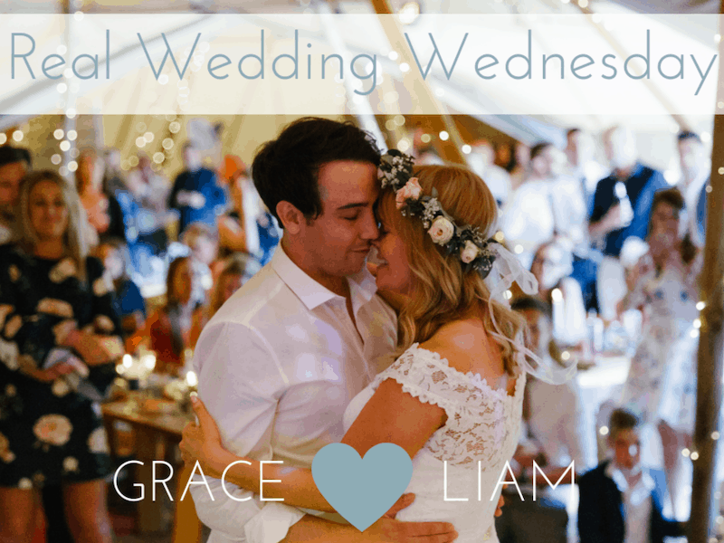 Grace & Liam's Lakeside Tipi Wedding