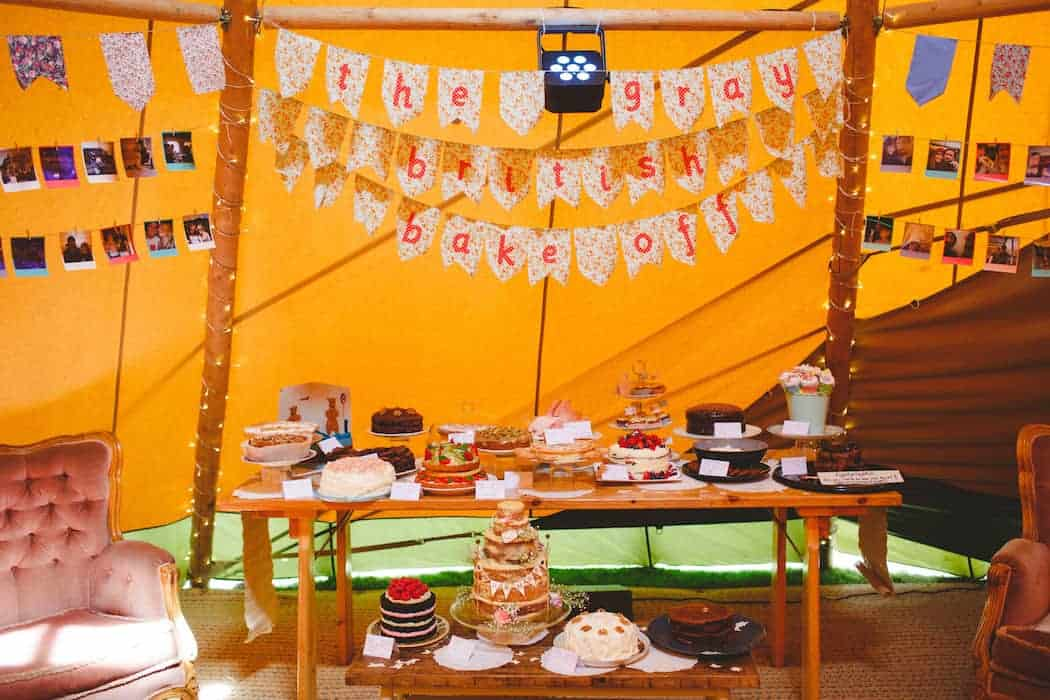 Wedding Bake Off where guests bring the cake! Budget Saving Wedding Tip