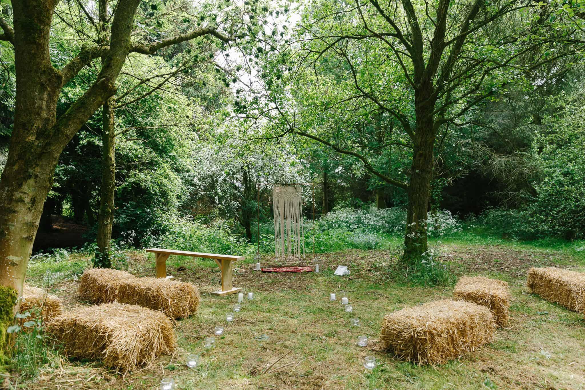 derbyshire woodland wedding