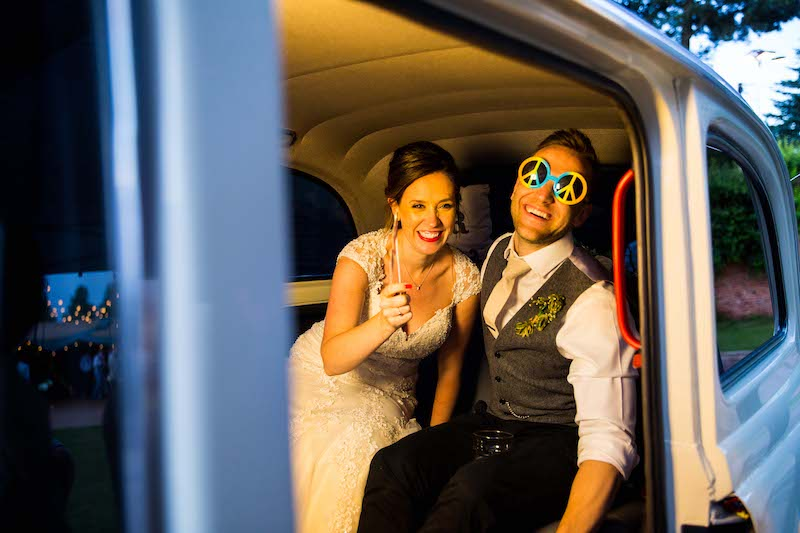 Taxi Snaps photo booths with props