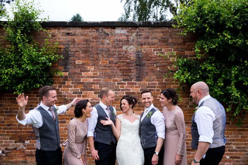 The Walled Garden at Elvaston Castle for outdoor weddings
