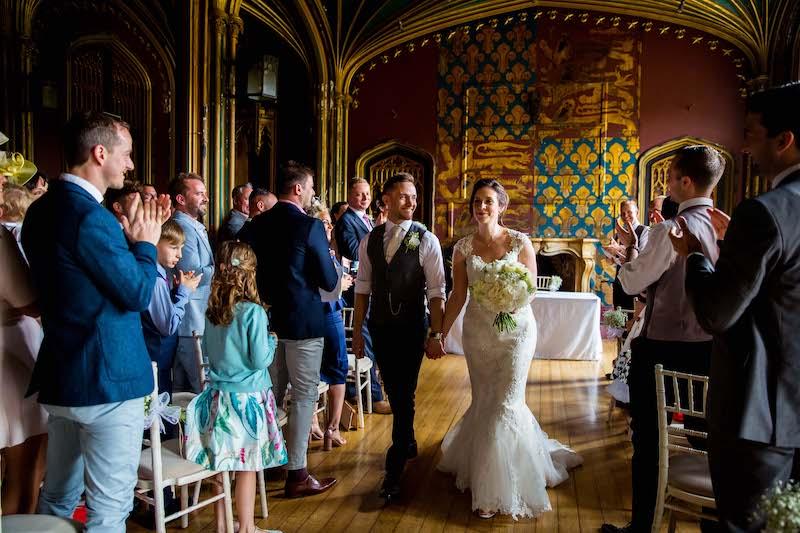 Gothic Hall Wedding at Elvaston Castle followed by a Sami Tipi Wedding Celebration