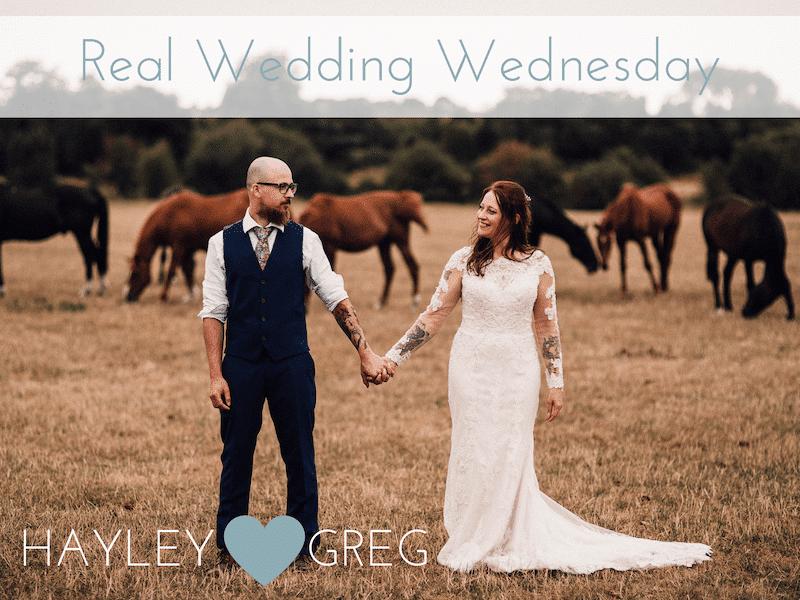 Hayley & Greg's Cuttle Brook Tipi Wedding