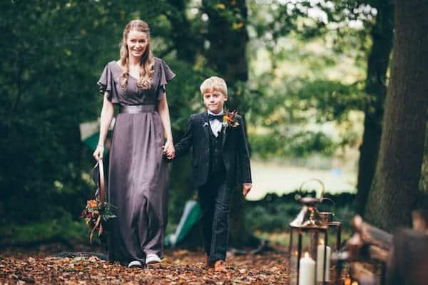Bradgate Park ceremony bridal party arriving