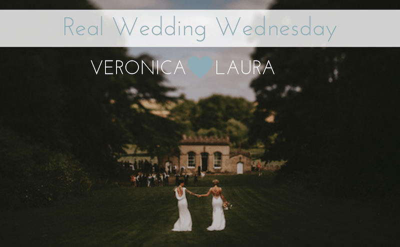 Veronica and Laura Real Wedding