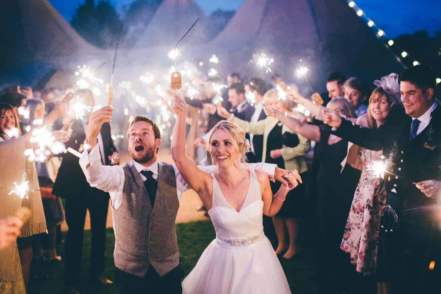 Sami Tipi Wedding by Christopher Terry