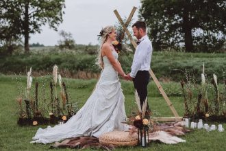 Boho wedding styling inspiration