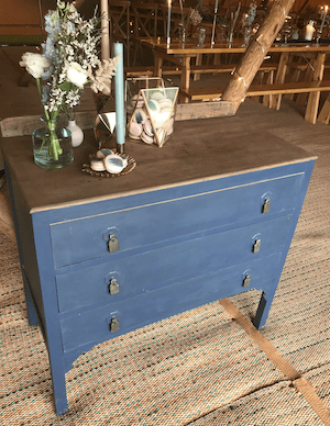 Blue | Grey Dressing Table | Cake Display