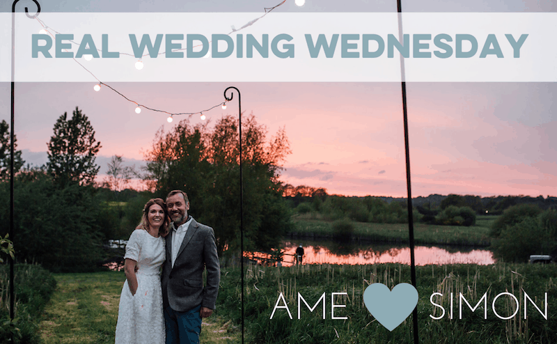 Ame & Simon's Staffordshire Tipi Wedding