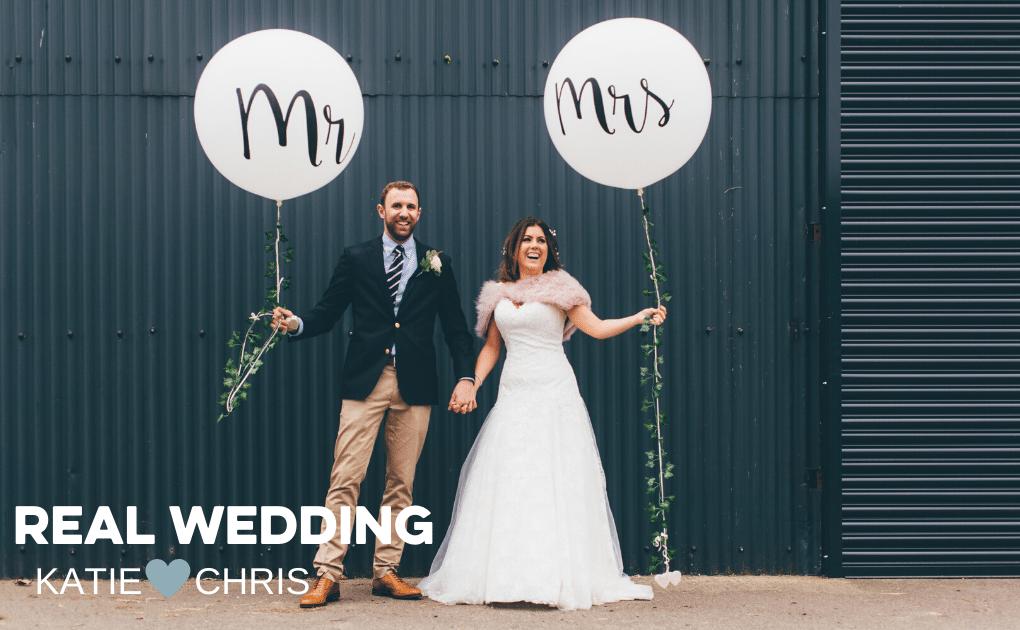 Real Wedding Katie & Chris at Bawdon Lodge Farm