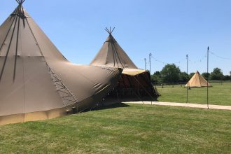 Tipi wedding at fortway farm, stoney stanton, Leicestershire