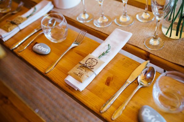 Wild Seeds as wedding favours