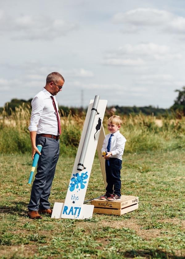 DIY Splat the Rat Game | outdoor wedding Games
