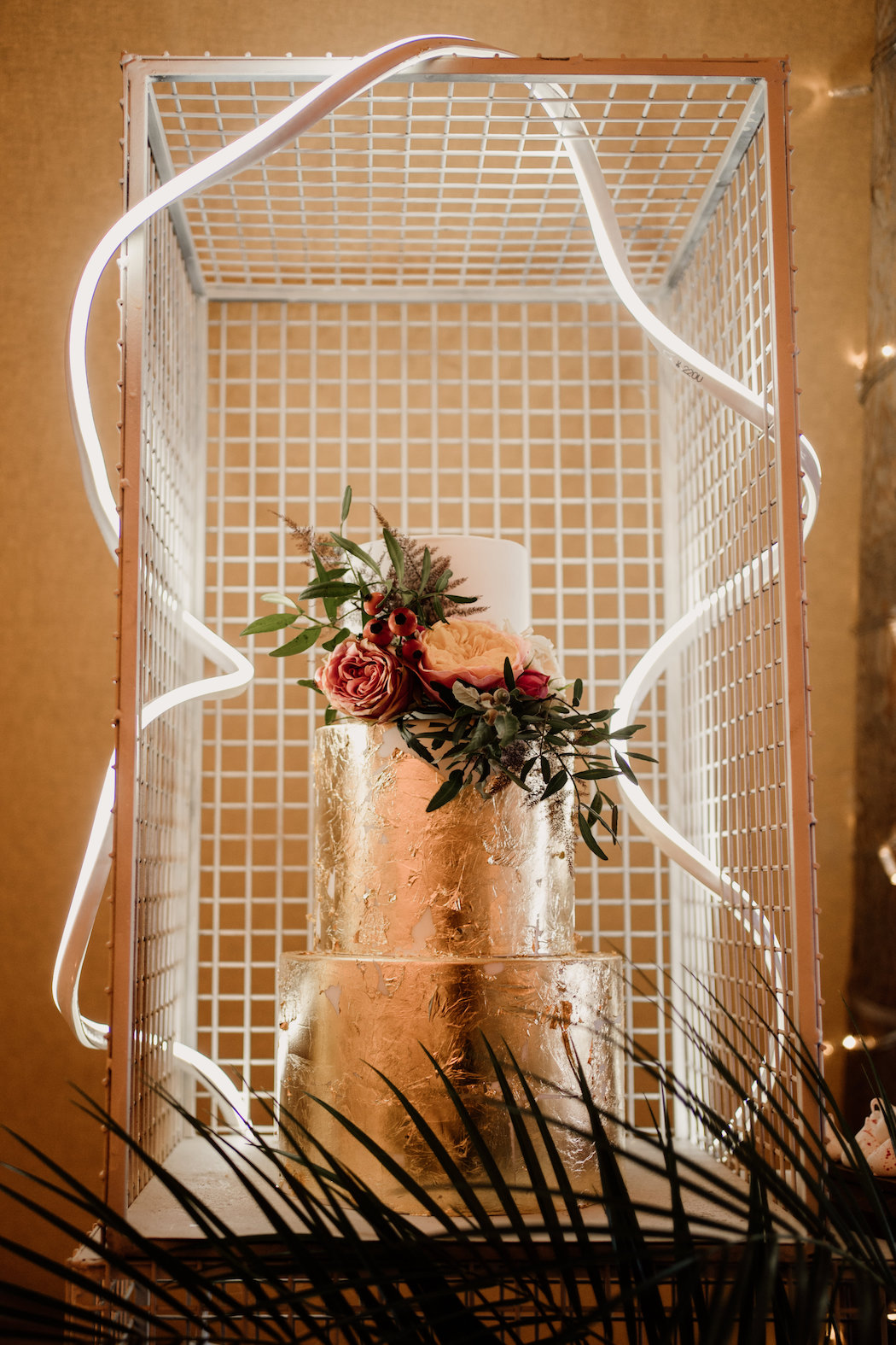 Neon Wedding Styling | How to style your tipi wedding