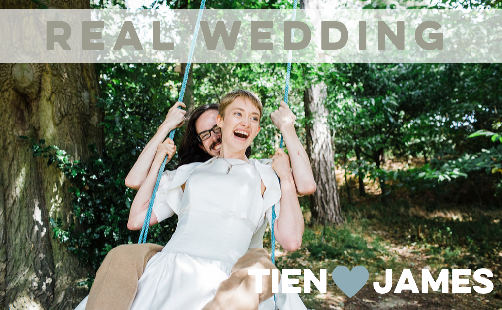 Tien & James' Nanpantan Tipi Wedding