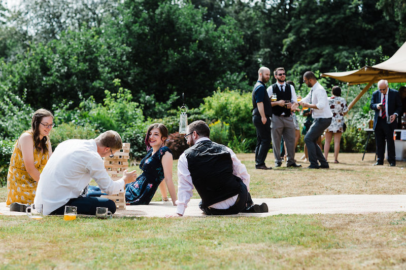 Nanpantan Tipi Wedding, outdoor games