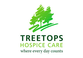Supporters of Treetops Hospice Care - Giving back to our local community