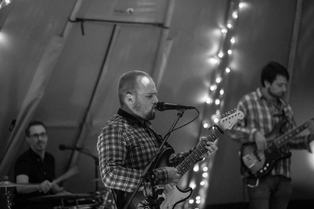 Live Music in the tipis for 21st Birthday Party Celebration