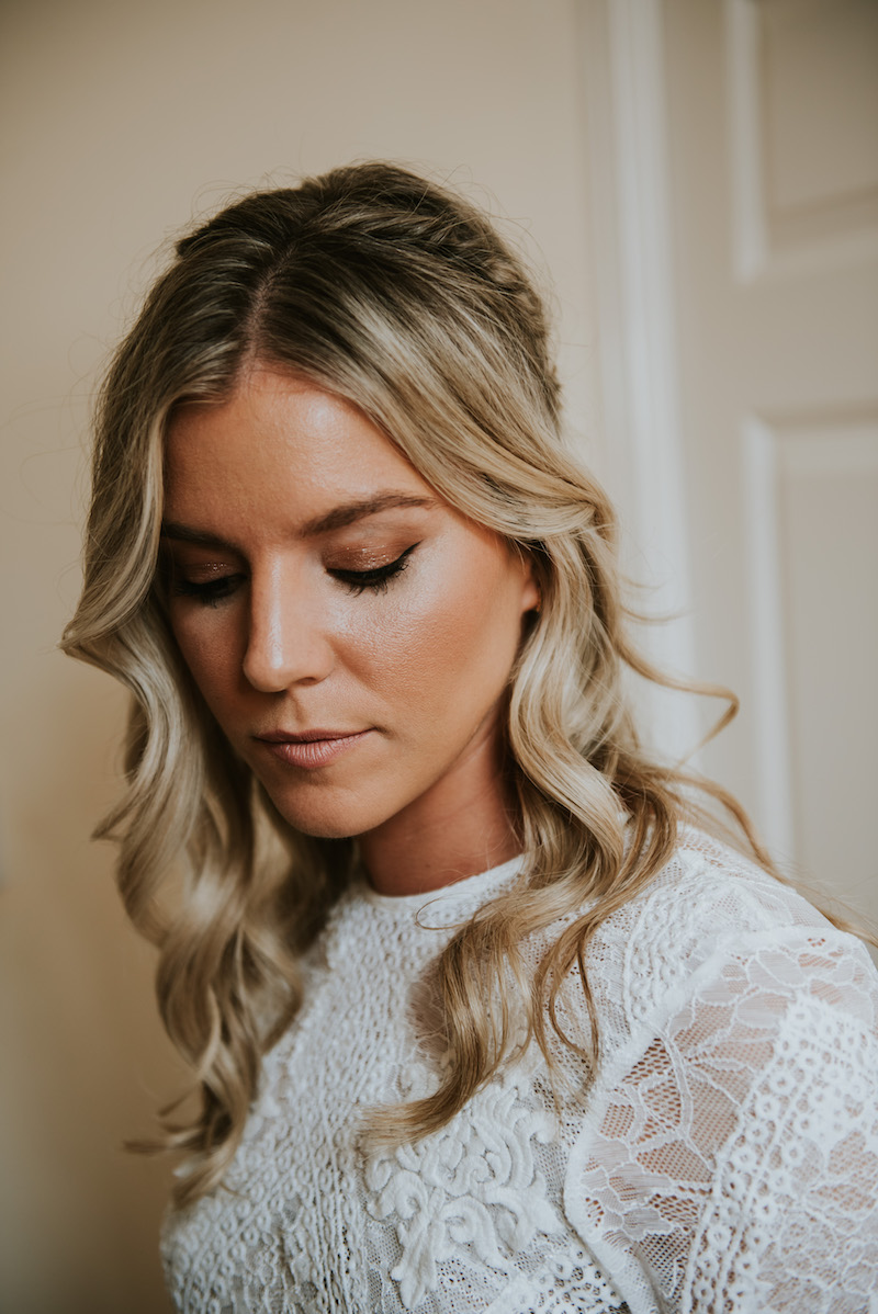Natural Wedding Makeup complete