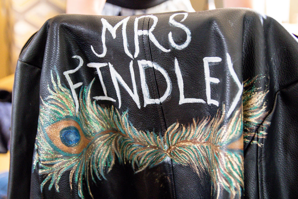 Mrs Findley leather jacket
