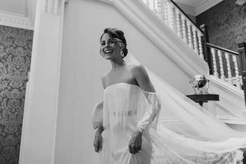 Bride dress reveal