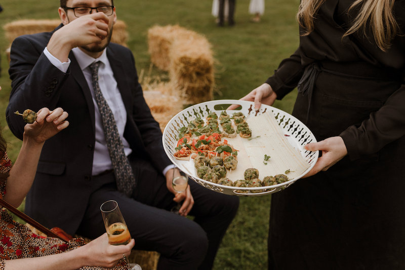 Plant Based vegan wedding food