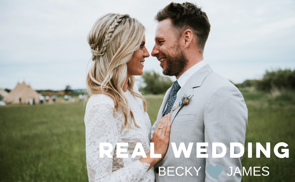Real Wedding Becky & James