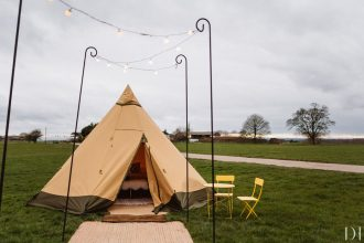 Glamping Tipi hire from Sami Tipi