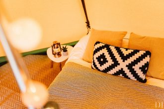 Staycation glamping hire
