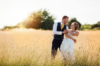 Farm Wedding in derbyshire