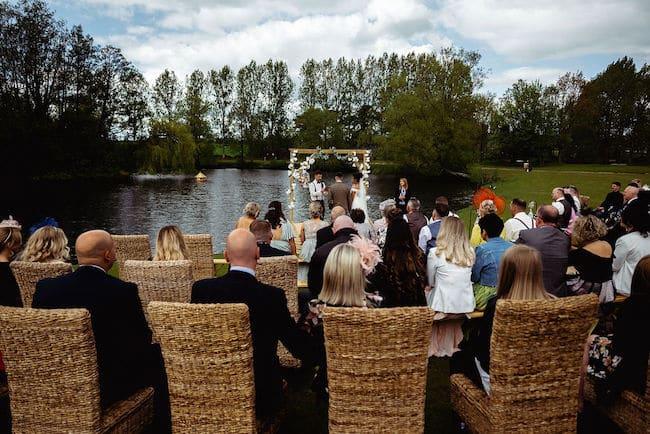 Lakeside Tipi Wedding Ceremony