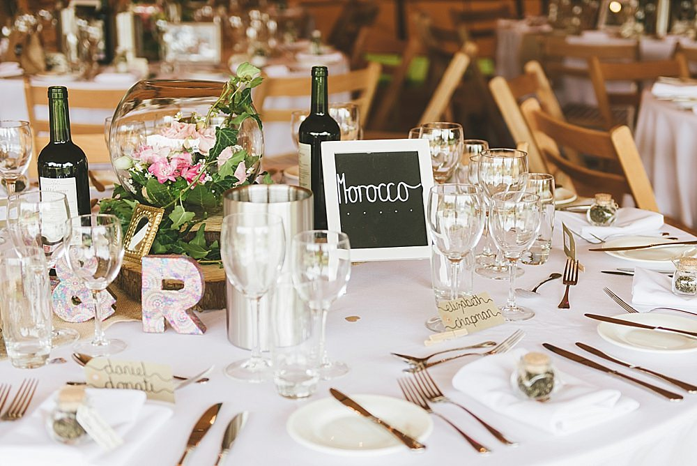 Morocco Table Travel Themed Tipi Styling - Leicestershire tipi wedding celebration