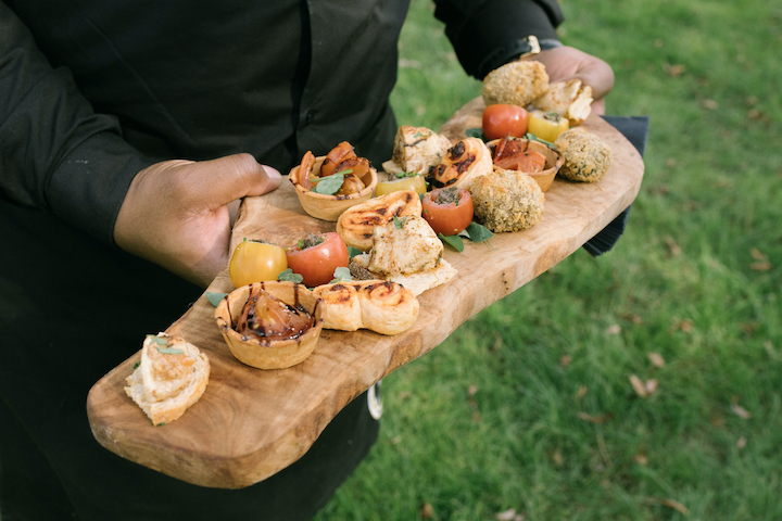 Vegan Tipi Wedding