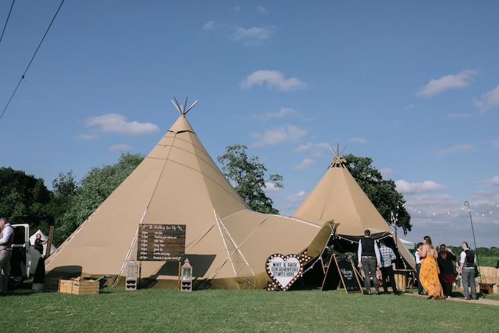 Cuttle Brook Festival Wedding