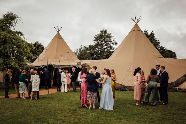 Classic Summer Tipi Wedding